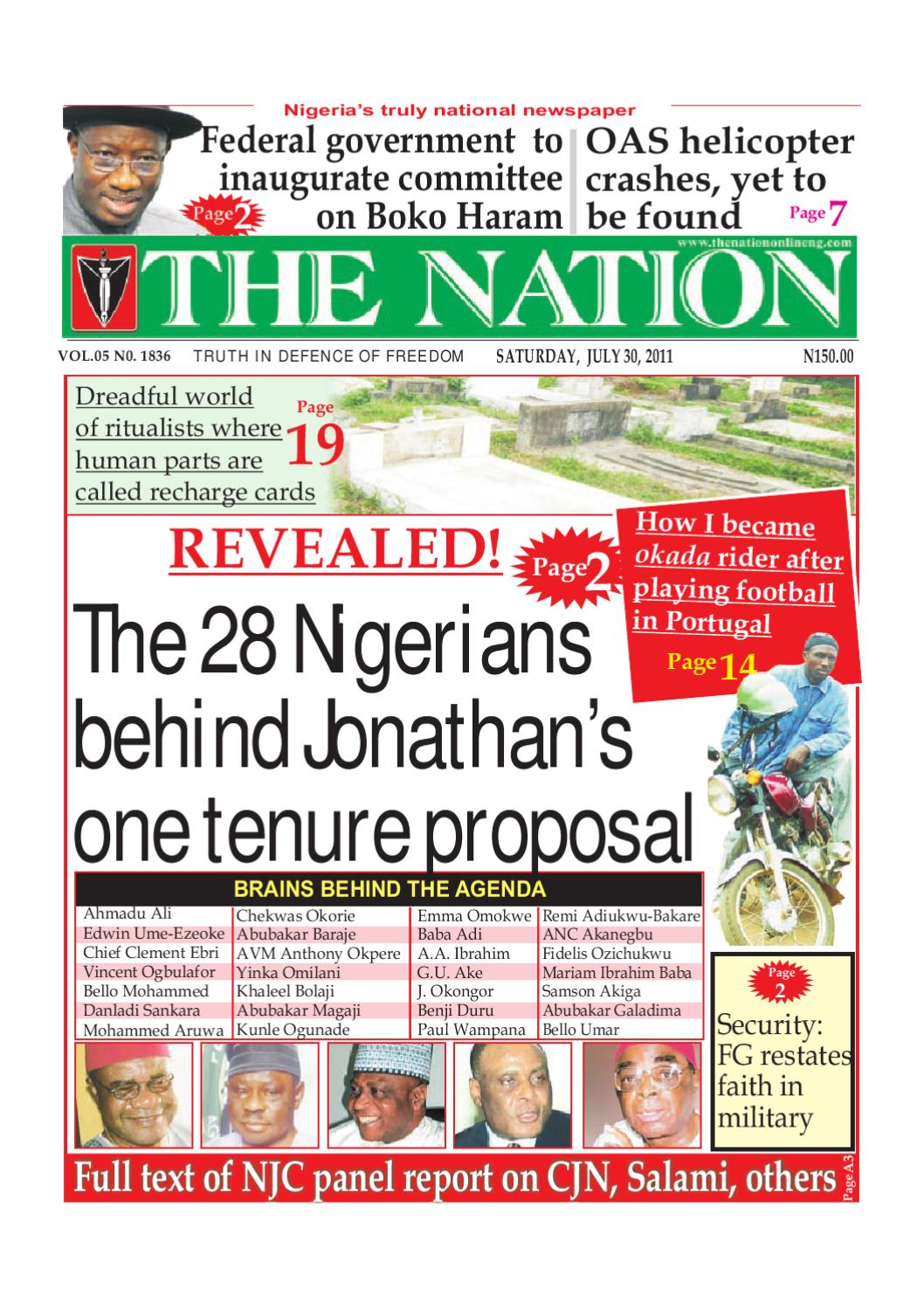 the nation july 30, 2011 by the nation issuuLanding Page Optimisation AKA Squeeze Page Shenanigans 348383 #6