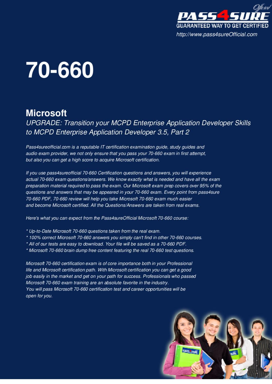 Microsoft 70 660 Free Pdf By Ipass4sure Issuu