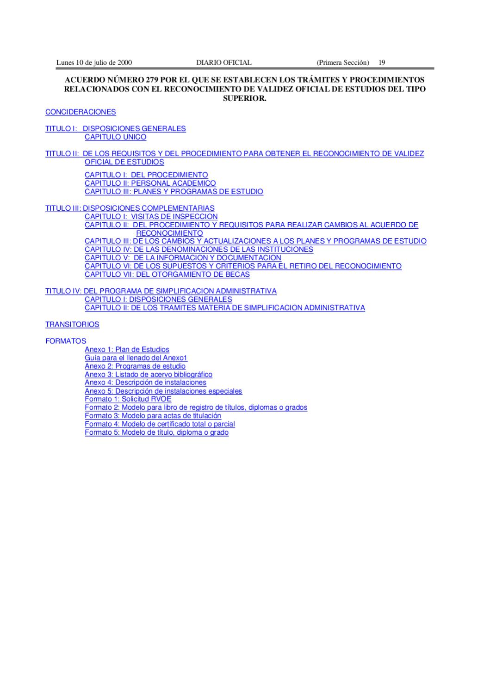 Acuerdo 279 SEP by Ubaldo Ramirez - issuu