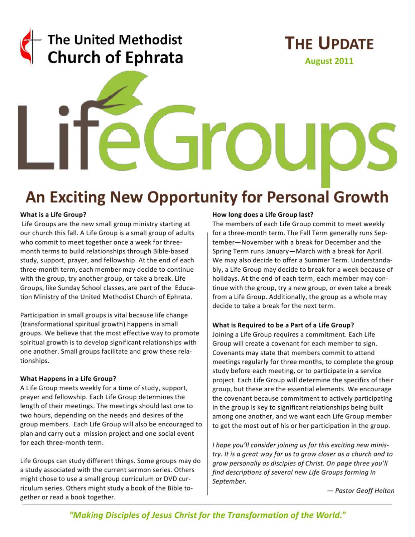 August 2011 Update by Geoff Helton - issuu