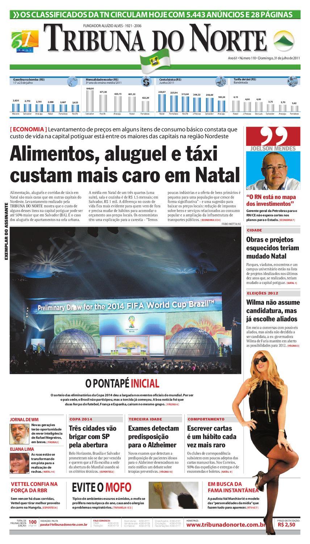 115c906e2ea5c Tribuna do Norte - 31 07 2011 by Empresa Jornalística Tribuna do Norte Ltda  - issuu