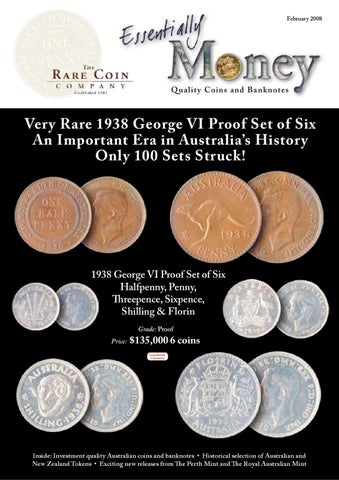 The Rare Coin Catalogue 2008-02 Essentially Money by Dimitar