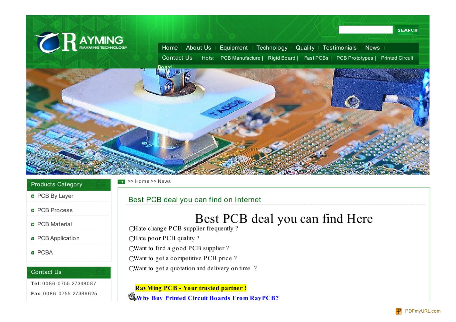 Pcb Manufacturer Manufacturing Printed Circuit Board Fast Pcbs Pcbpcb Assembly Manufacturerpcb Mass Prototypes Prototypin By Jack Lei Issuu