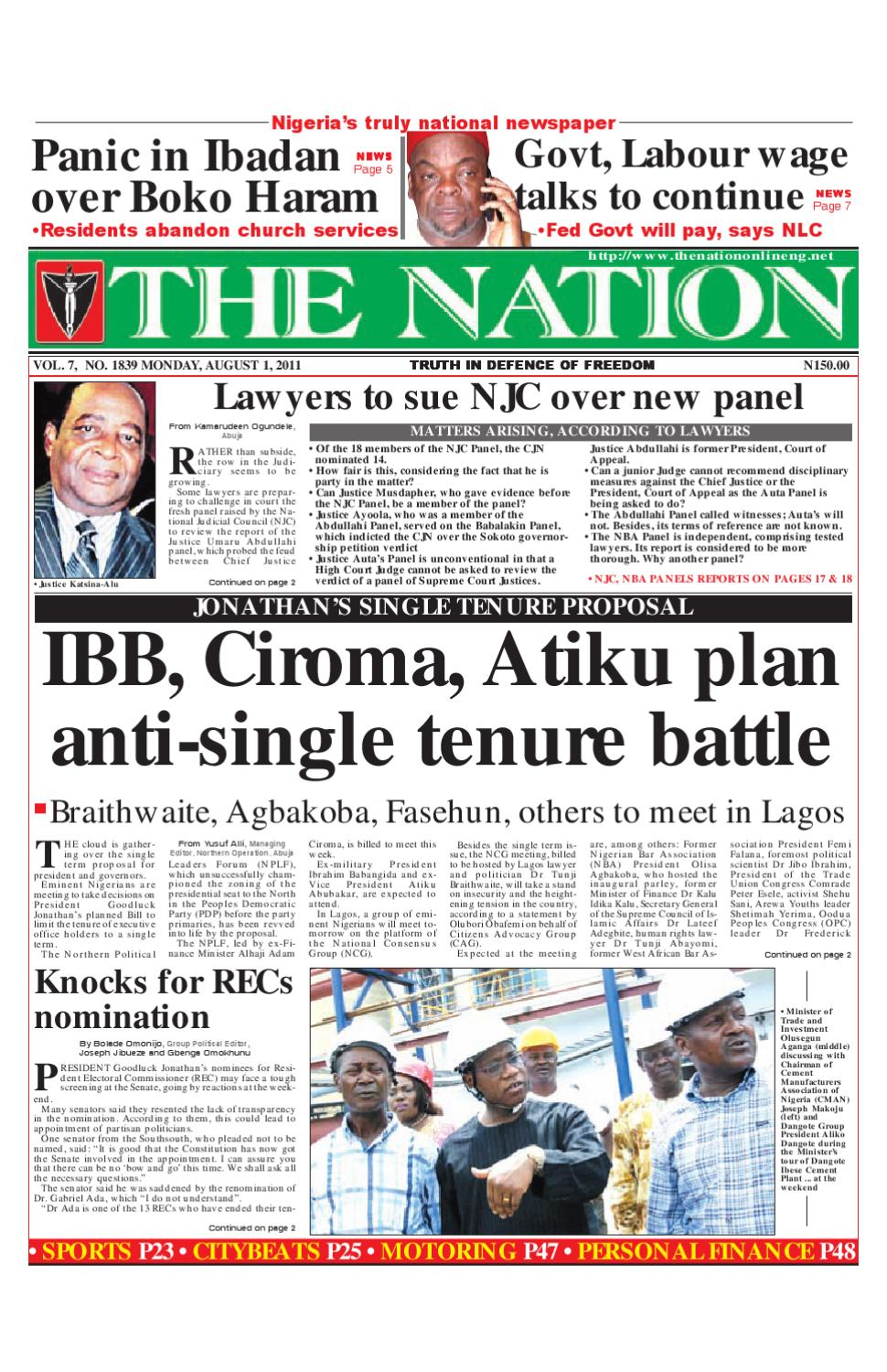 The Nation August 01, 2011 by The Nation - issuu