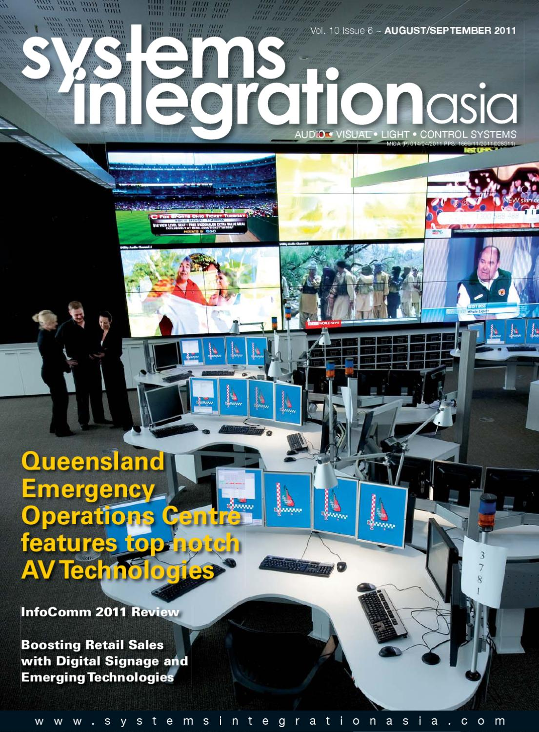 Systems integration asia august september 2011 by spinworkz pte ltd issuu