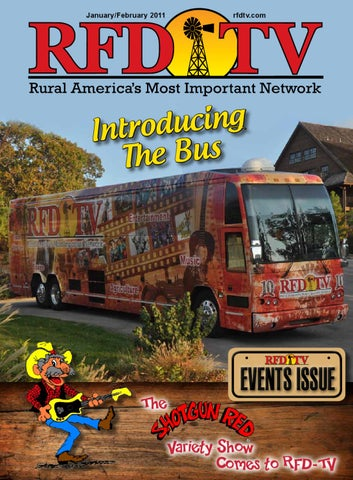 RFD-TV Magazine Sample Issue from Jan/Feb 2011 by Rural Media Group
