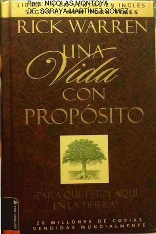 Una Vida con Propósito_Nicolas by Juan Carlos Diaz León - issuu