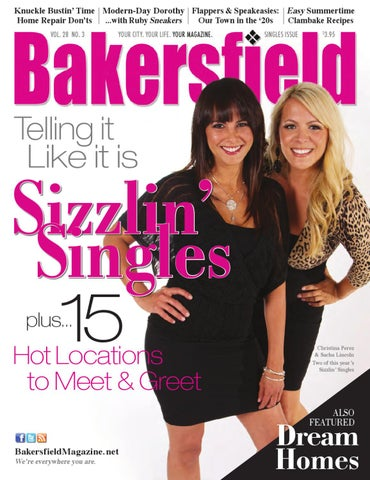 Bakersfield magazine 28 3 sizzlin 39 singles by for Bakersfield home magazine