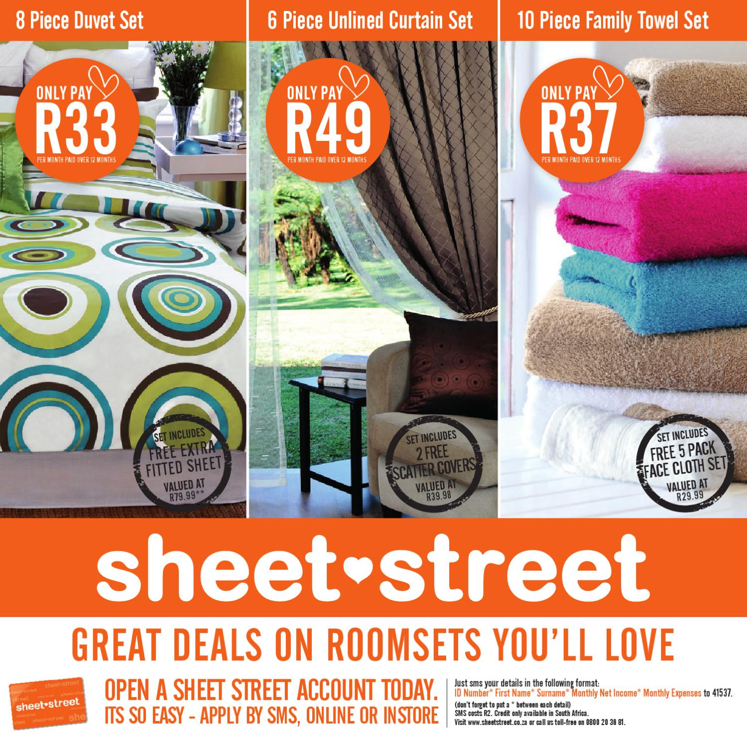 Sheet Street Homeset Catalogue By Mrpg Issuu
