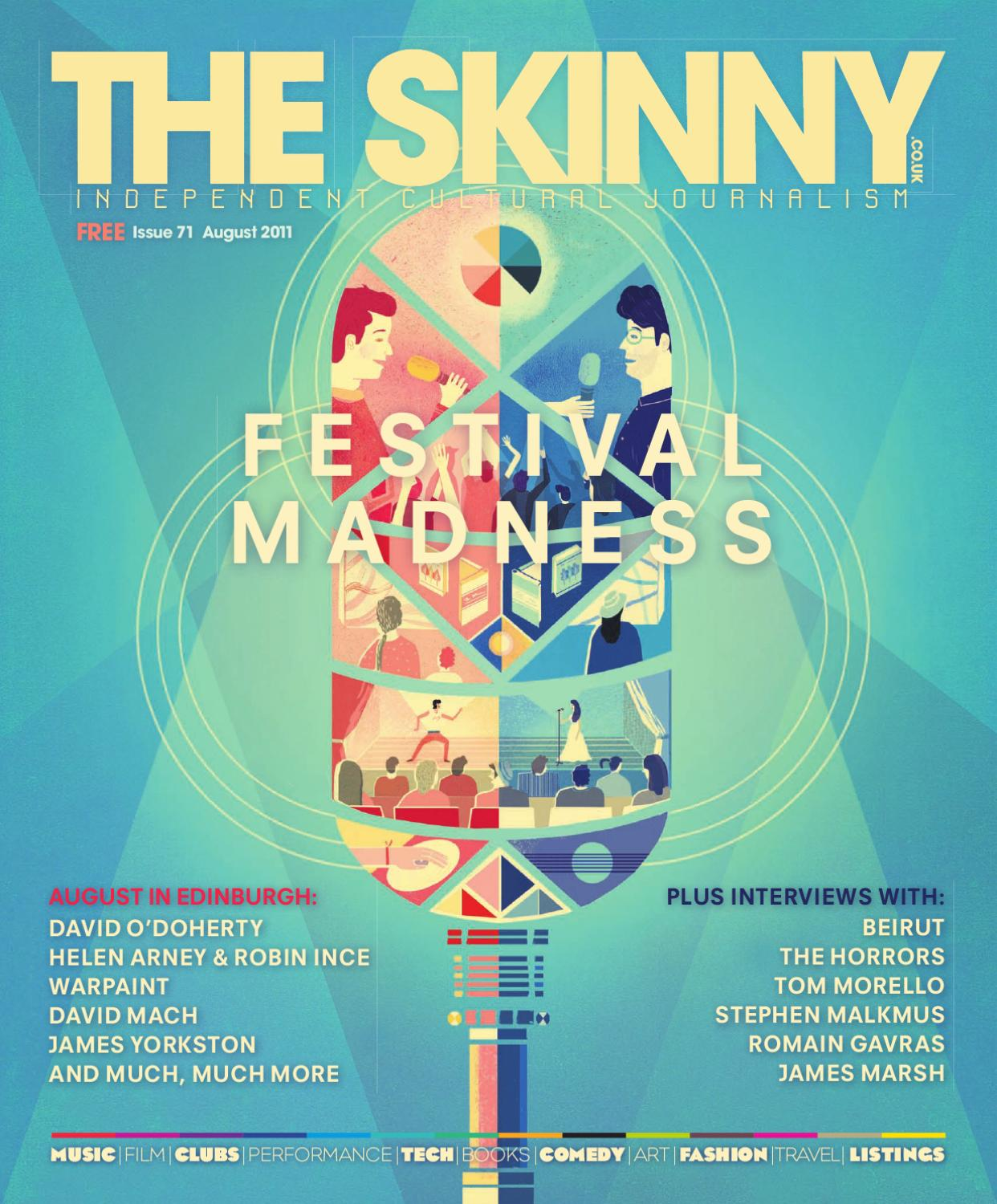 The Skinny August 2011 by The Skinny - issuu