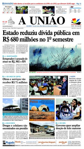 JORNAL A UNIÃO by Jornal A União - issuu fb52b2644aeb7