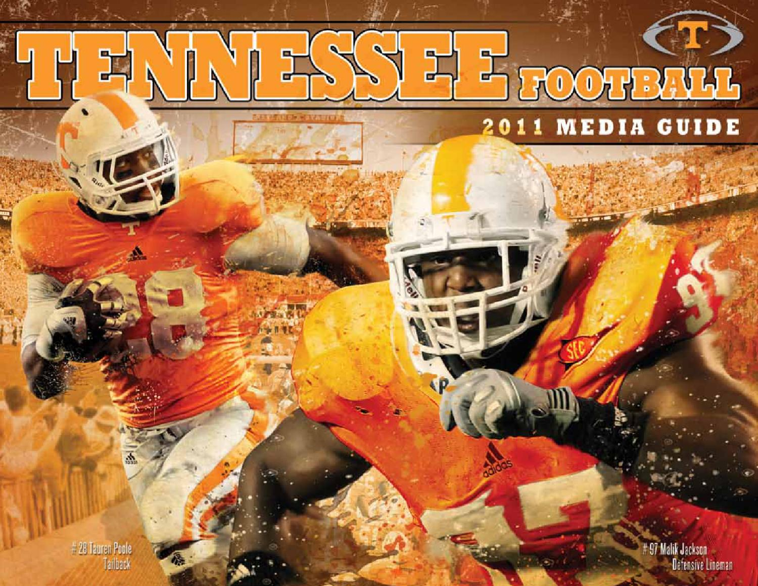 cdb01f1e5 2011 Tennessee Football Media Guide by The University of Tennessee  Athletics Department - issuu