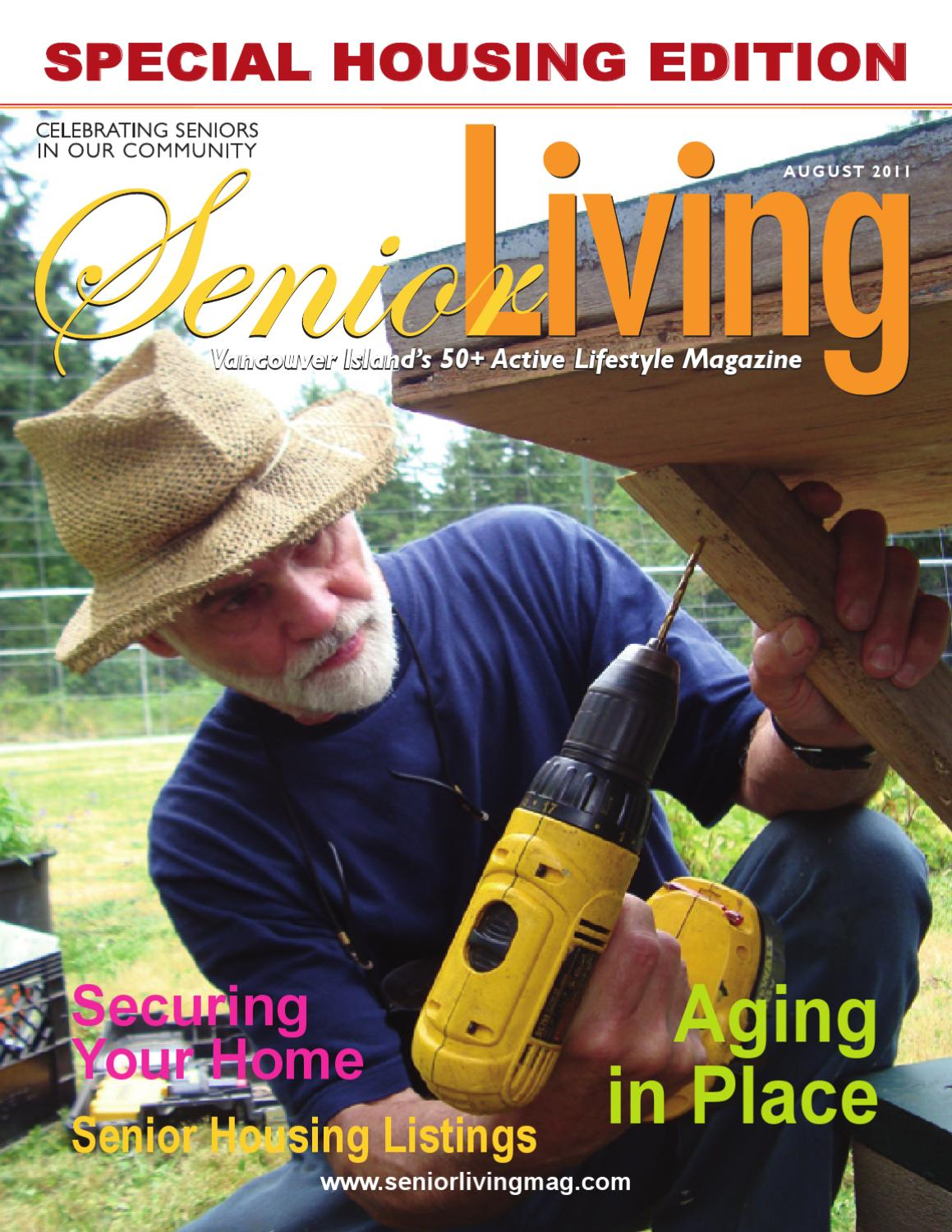 Senior Living Magazine Island Edition August 2011 By