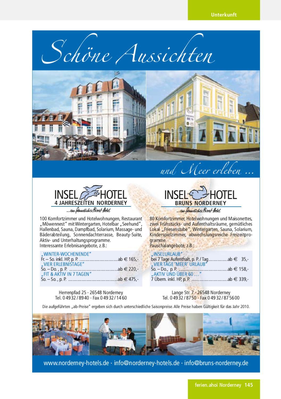 Ferien Ahoi Norderney Magazin 2010 2 By Ferien Ahoi Issuu
