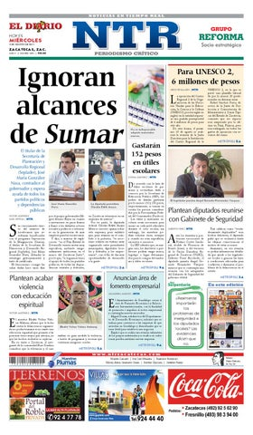 El Diario NTR by NTR Medios de Comunicación - issuu 074e1d9602