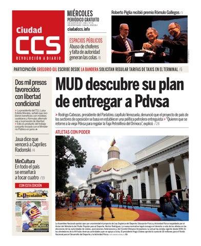 3bada6881 030811 by Ciudad CCS - issuu