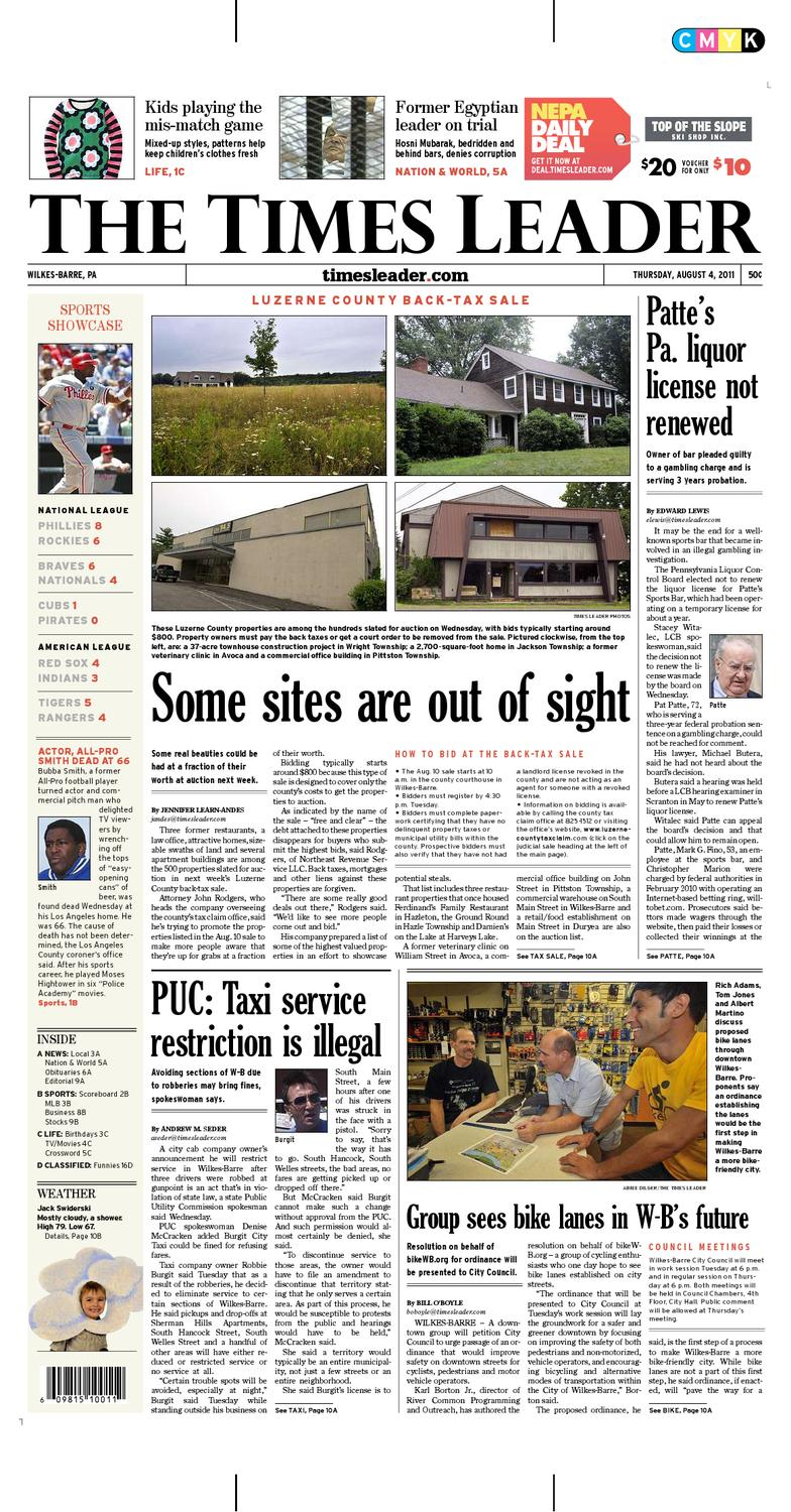 Times Leader 08-04-2011 by The Wilkes-Barre Publishing Company - issuu 792f911b4