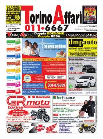 Torino Affari Giornale Di Annunci Gratuiti Edizione Free Dell8