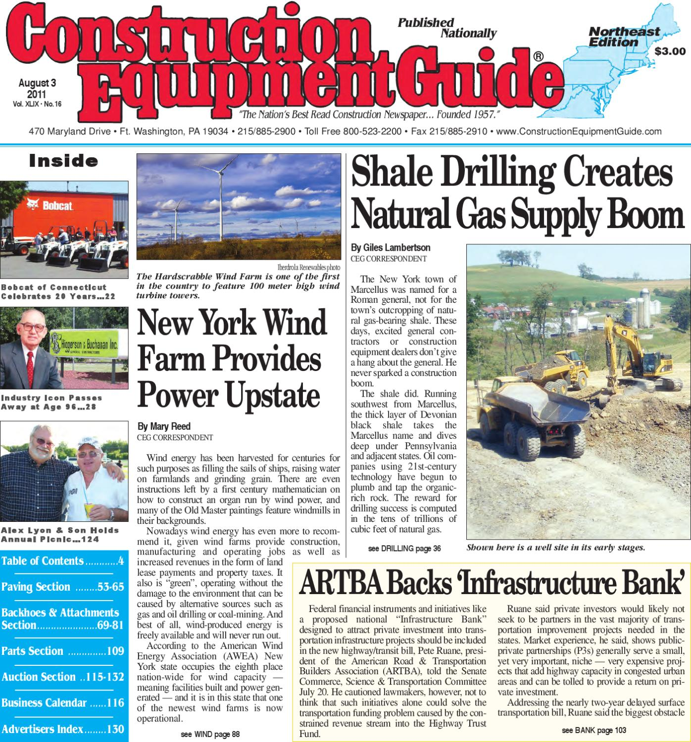 640998b75 Northeast #16, 2011 by Construction Equipment Guide - issuu