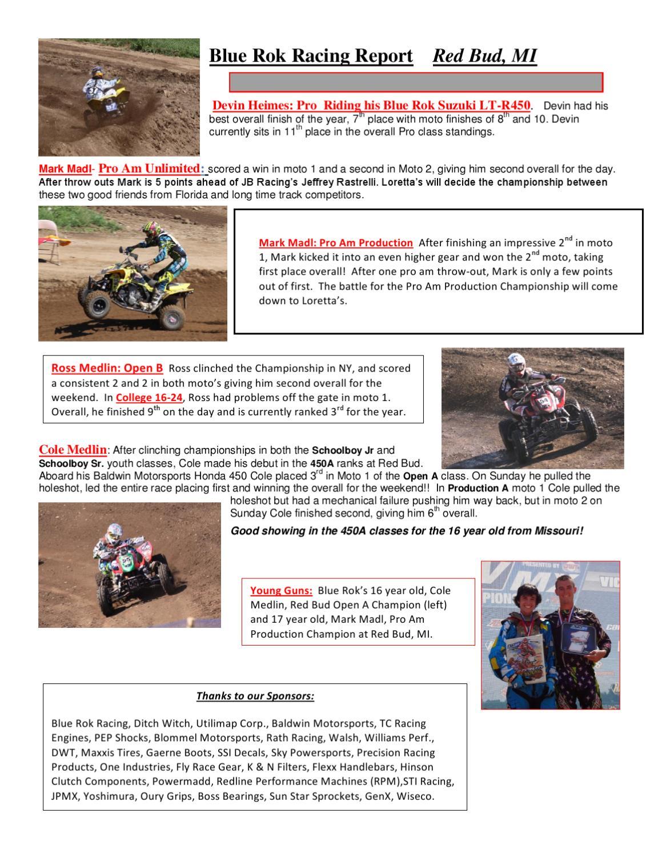 Blue Rok Race Report by Randy Shimanski - issuu