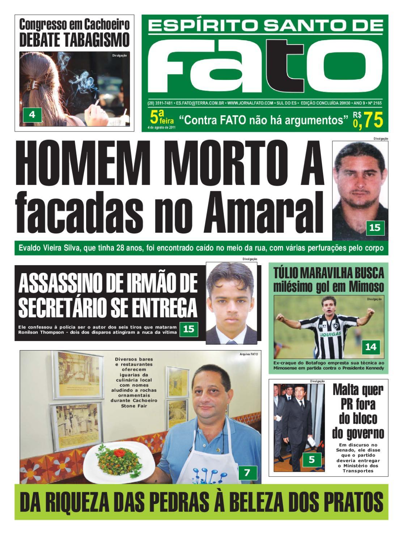 Edição 2.165 by Jornal Fato - issuu 7fce09da1828b