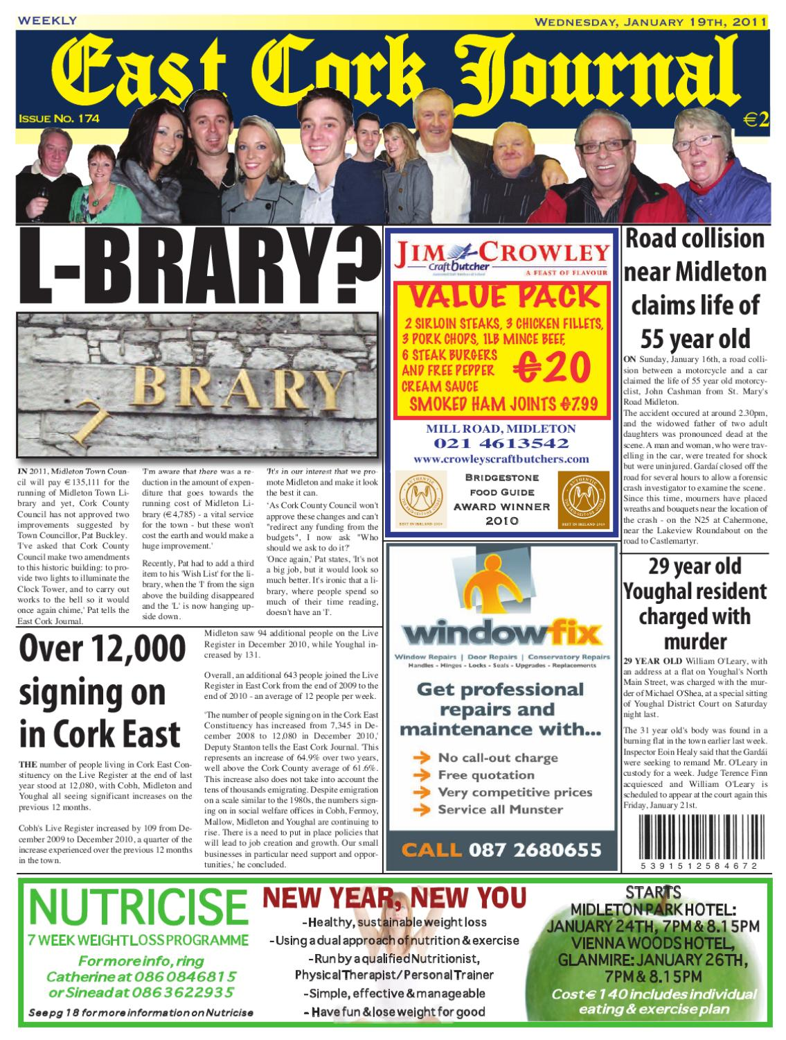 Issue 174 by East Cork Journal - issuu