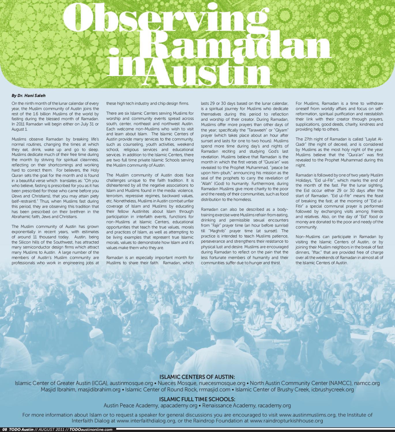 TODO Austin August 2011 by EQ Austin Journal - issuu