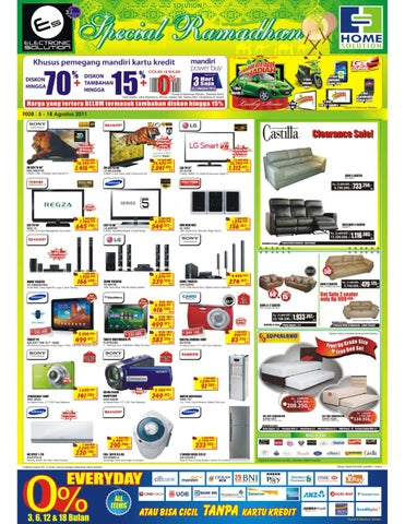 Info Promo Home Solution   Electronic Solution 5 Agustus 2011 f1b92f51e8