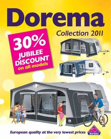 Dorema S 2011 Caravan Awning Range Brochure By Laura Skene Issuu