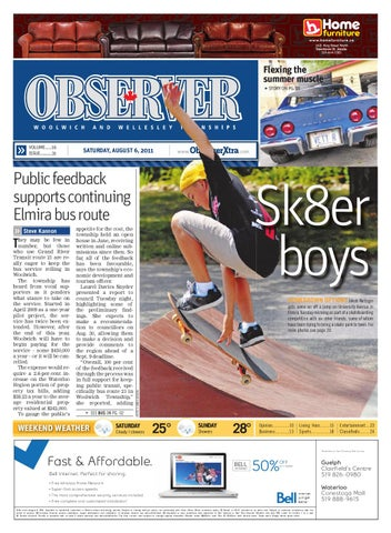 August 6, 2011 By Woolwich Observer   Issuu