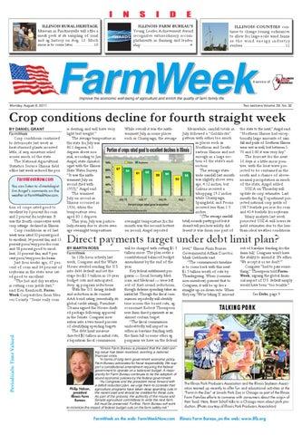 3d0bbe02708b FarmWeek August 8 2011 by Illinois Farm Bureau - issuu