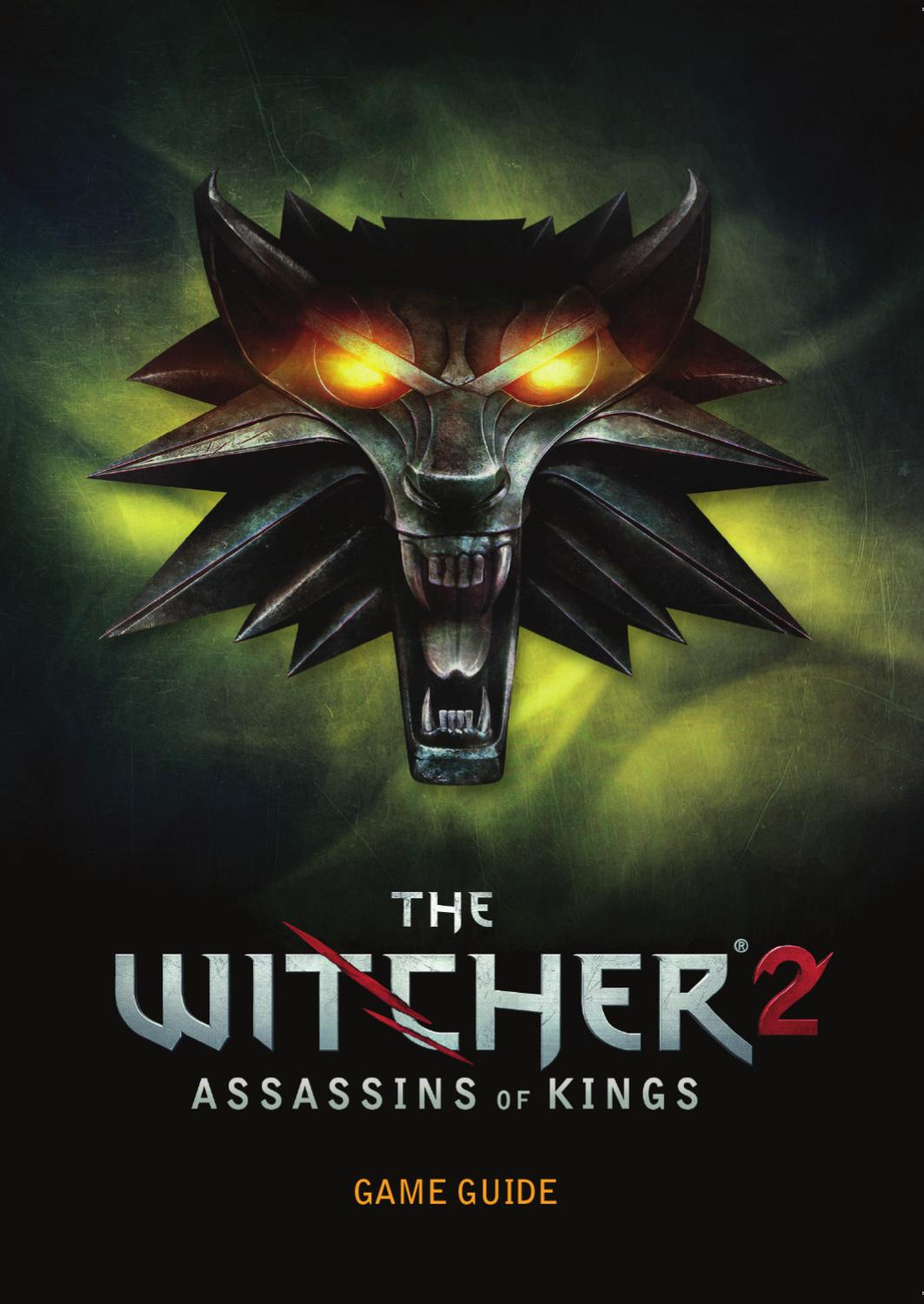 The Witcher 2 Game Guide By Kyle Green Issuu