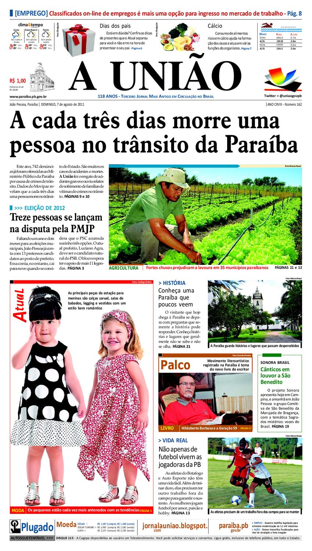 JORNAL A UNIÃO by Jornal A União - issuu 60fe606f5b