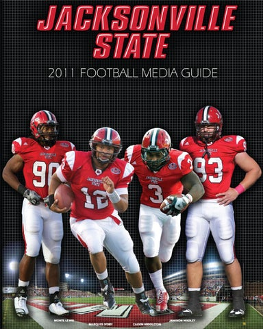 2011 Jacksonville State Football Media Guide by Jacksonville State ... a5e8b87cf