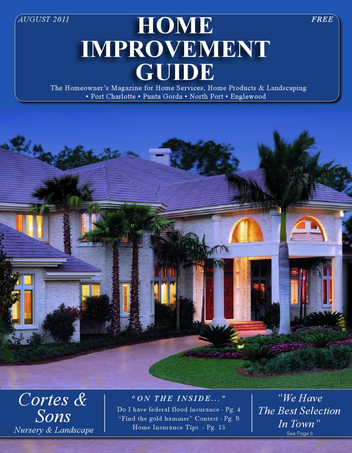 Home Improvement Guide August 2011 By Home Improvement
