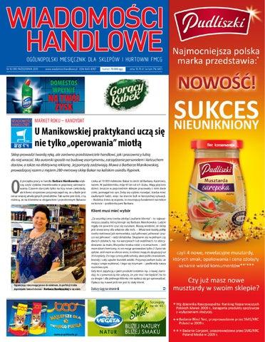Wiadomości Handlowe X 2010 By Wydawnictwo Gospodarcze Issuu