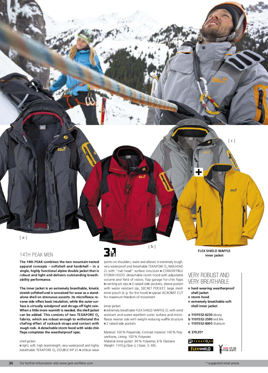 cheap for discount beauty newest collection Jack Wolfskin Catalogue Winter 2011 by Jack Wolfskin - issuu
