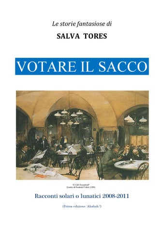 VOTARE IL SACCO by Salva Tores - issuu db52031883b