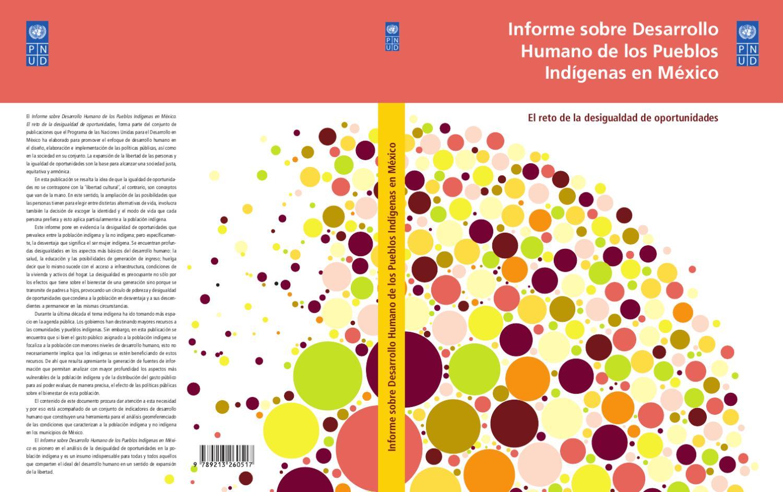 c22fbd255b99c Informe sobre Desarrollo Humano de los Pueblos Indígenas en México by  Caracol de Plata - issuu