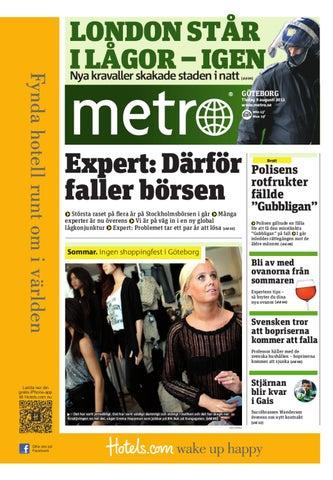 20110809 se goteborg by Metro Sweden - issuu 9bb997221ec5c