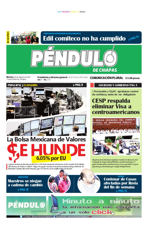 Pendulo de Chiapas by Péndulo de Chiapas - issuu