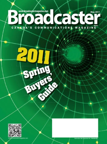 Broadcaster May 2011 by Annex Business Media - issuu