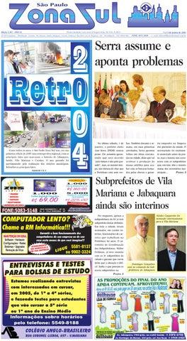 0f291b835770b 07 a 13 de janeiro de 2005 - Jornal São Paulo Zona Sul by Jornal ...