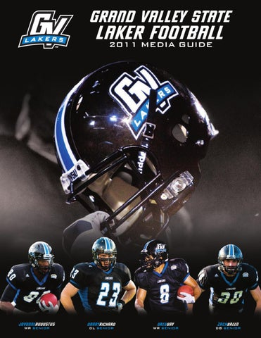 2011 Media Guide by Grand Valley State Lakers - issuu 47632f516