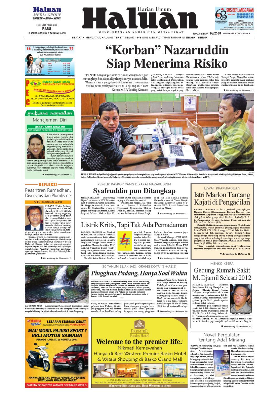 Haluan 10 Agustus 2011 By Harian Issuu Produk Ukm Bumn Sambal Bawang Goreng Maklin