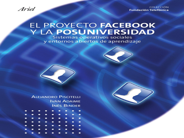 Proyecto Facebook by Elio Fernández - issuu