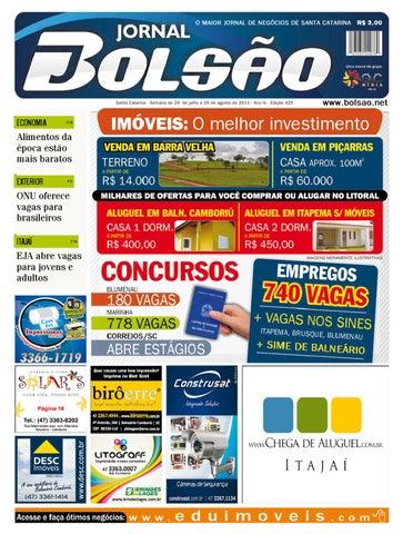 0022744e5 Edição 425 by Bolsão Jornal - issuu