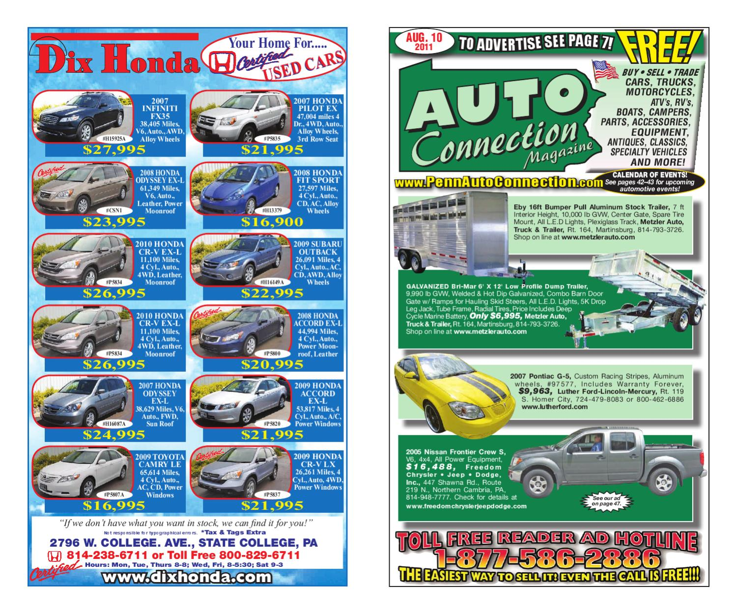 08-10-11 Auto Connection Magazine by Auto Connection ... on