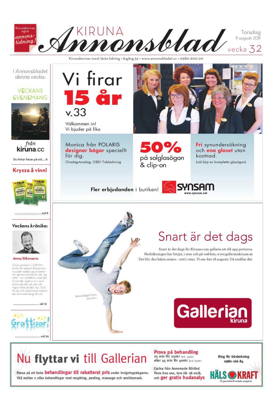 promo code 99512 26362 Kiruna Annonsblad 2011 v.32 by Svenska Civildatalogerna AB - issuu