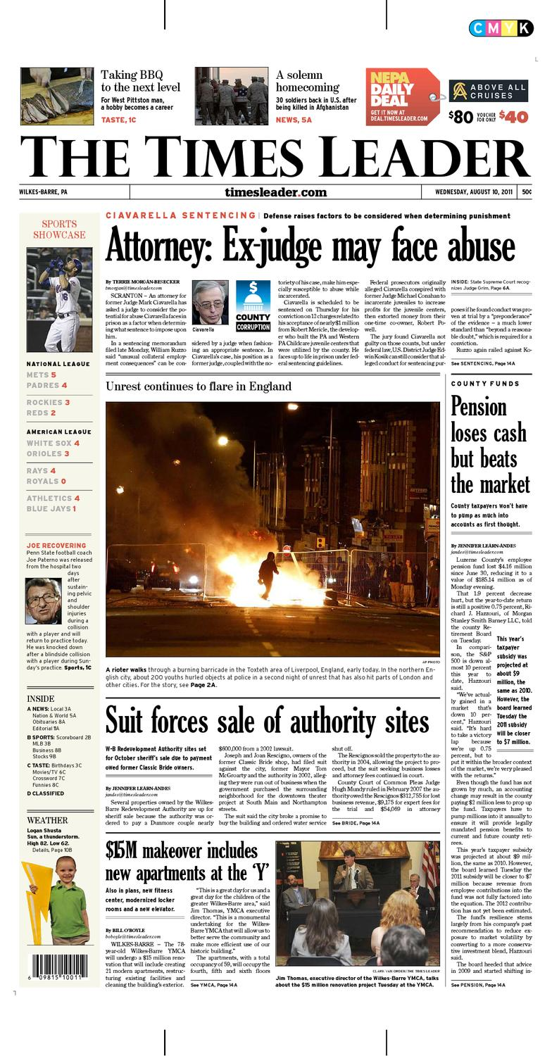 Times Leader 08 10 2011 By The Wilkes Barre Publishing Company